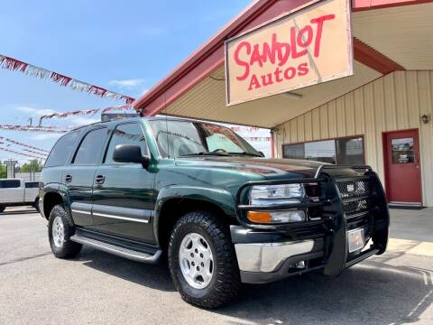 2004 Chevrolet Tahoe for sale at Sandlot Autos in Tyler TX