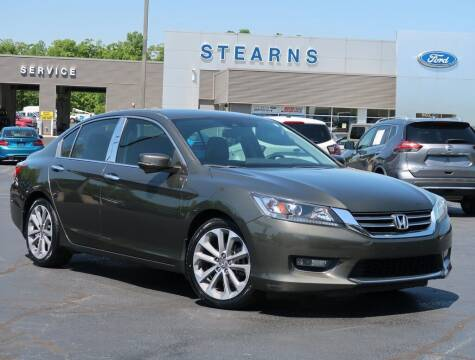 2015 Honda Accord for sale at Stearns Ford in Burlington NC