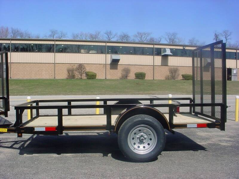 2021 Reiser 5' x 10' Utility Trailer for sale at S. A. Y. Trailers in Loyalhanna PA
