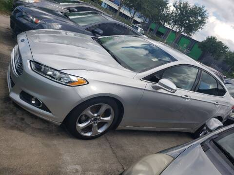 2014 Ford Fusion for sale at Track One Auto Sales in Orlando FL