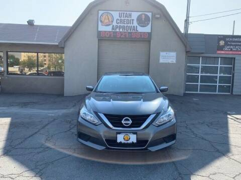 2018 Nissan Altima for sale at Utah Credit Approval Auto Sales in Murray UT