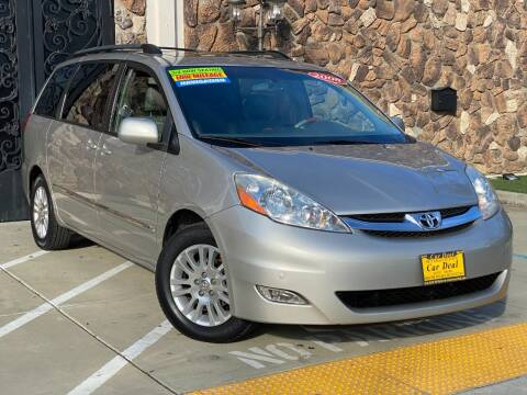 2008 Toyota Sienna for sale at Car Deal Auto Sales in Sacramento CA
