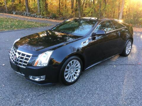 2014 Cadillac CTS for sale at Lou Rivers Used Cars in Palmer MA