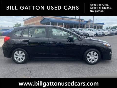 2016 Subaru Impreza for sale at Bill Gatton Used Cars in Johnson City TN