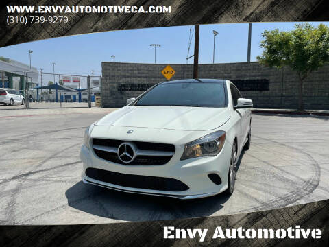 2017 Mercedes-Benz CLA for sale at Envy Automotive in Studio City CA