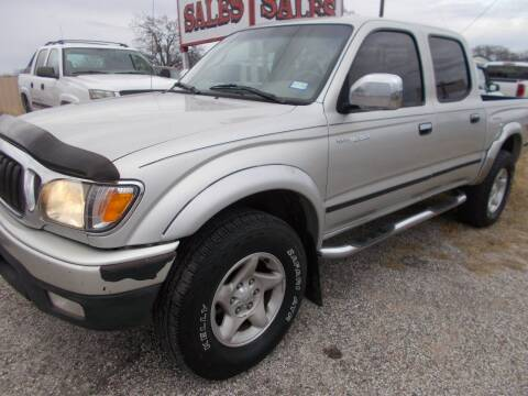 2003 Toyota Tacoma for sale at OTTO'S AUTO SALES in Gainesville TX