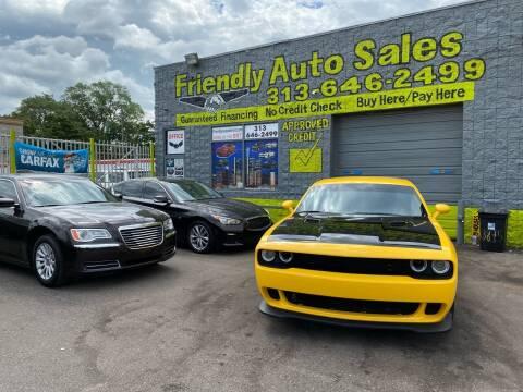 2017 Dodge Challenger for sale at Friendly Auto Sales in Detroit MI