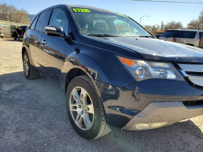 2009 Acura MDX for sale at Canyon View Auto Sales in Cedar City UT
