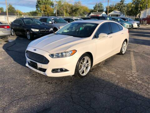 2013 Ford Fusion for sale at Dean's Auto Sales in Flint MI