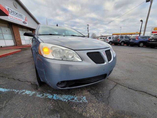 2008 Pontiac G6 for sale at Dixie Automart LLC in Hamilton OH