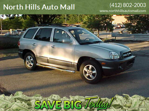 2005 Hyundai Santa Fe for sale at North Hills Auto Mall in Pittsburgh PA
