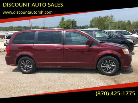 2017 Dodge Grand Caravan for sale at DISCOUNT AUTO SALES in Mountain Home AR