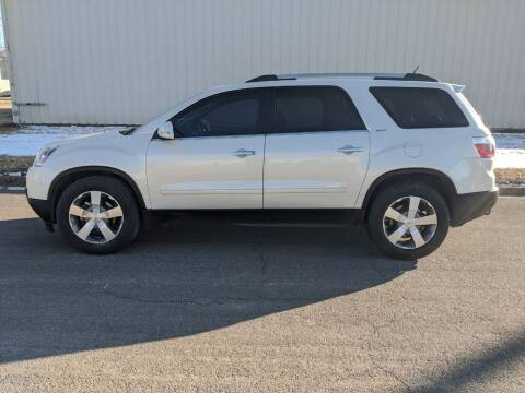 2011 GMC Acadia for sale at TNK Autos in Inman KS