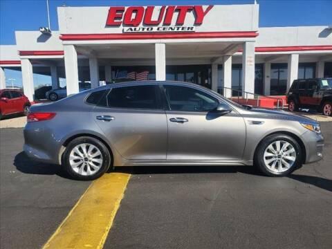 2016 Kia Optima for sale at EQUITY AUTO CENTER in Phoenix AZ