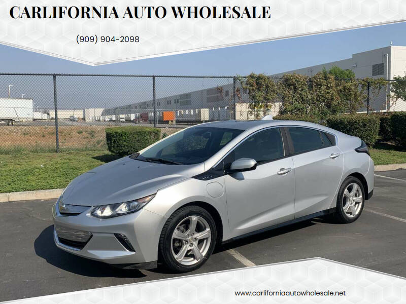 2017 Chevrolet Volt for sale at CARLIFORNIA AUTO WHOLESALE in San Bernardino CA
