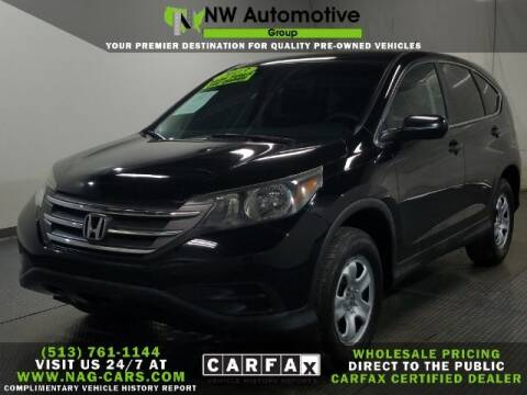 2013 Honda CR-V for sale at NW Automotive Group in Cincinnati OH