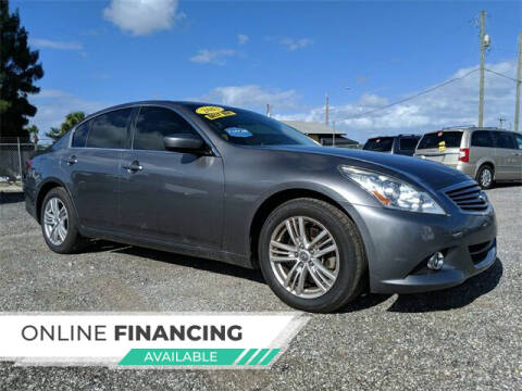 2013 Infiniti G37 Sedan for sale at Car Spot Of Central Florida in Melbourne FL