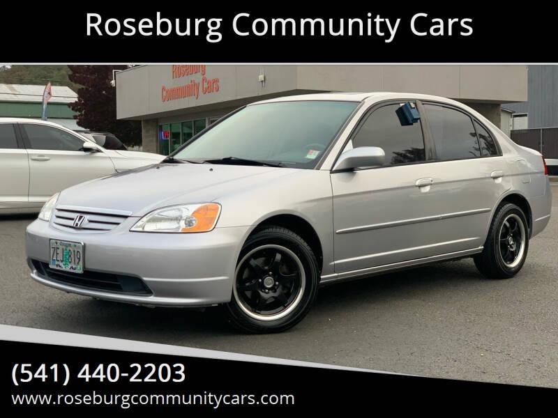 2003 Honda Civic EX 4dr Sedan - Roseburg OR