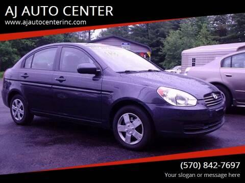 2011 Hyundai Accent for sale at AJ AUTO CENTER in Covington PA
