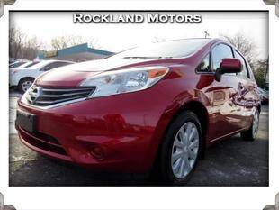 2014 Nissan Versa Note for sale at Rockland Automall - Rockland Motors in West Nyack NY