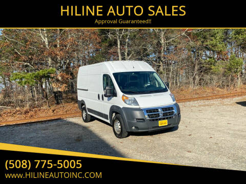 2016 RAM ProMaster Cargo for sale at HILINE AUTO SALES in Hyannis MA