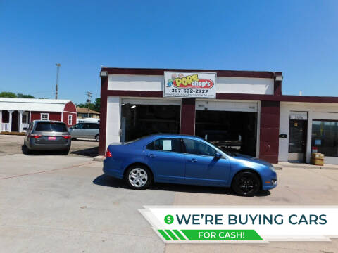 2010 Ford Fusion for sale at Pork Chops Truck and Auto in Cheyenne WY