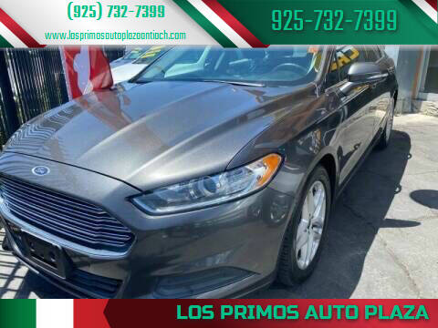 2016 Ford Fusion for sale at Los Primos Auto Plaza in Antioch CA
