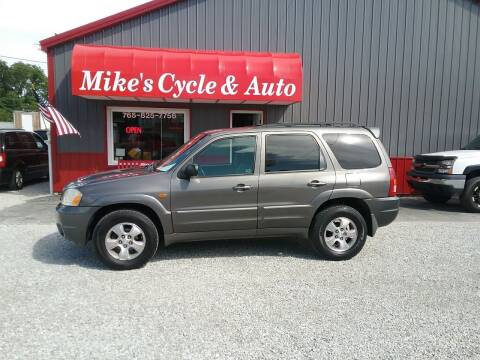 2003 Mazda Tribute for sale at MIKE'S CYCLE & AUTO in Connersville IN