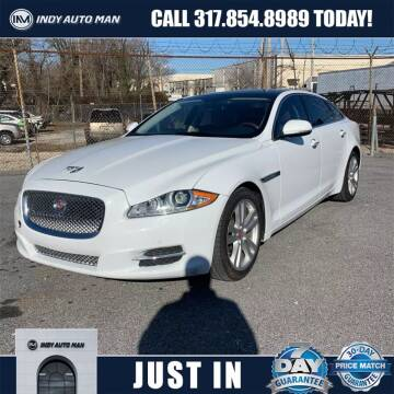 2014 Jaguar XJL for sale at INDY AUTO MAN in Indianapolis IN