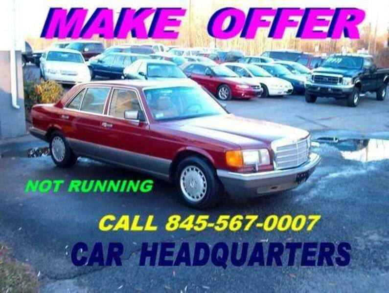 1987 Mercedes-Benz 420-Class for sale at CAR  HEADQUARTERS in New Windsor NY