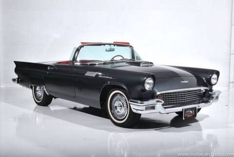 1957 Ford Thunderbird for sale at Motorcar Classics in Farmingdale NY