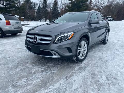 2015 Mercedes-Benz GLA for sale at Northstar Auto Sales LLC in Ham Lake MN