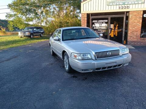 2010 Mercury Grand Marquis for sale at John Lombardo Enterprises Inc in Rochester NY