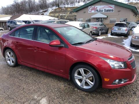 2013 Chevrolet Cruze for sale at Gilly's Auto Sales in Rochester MN