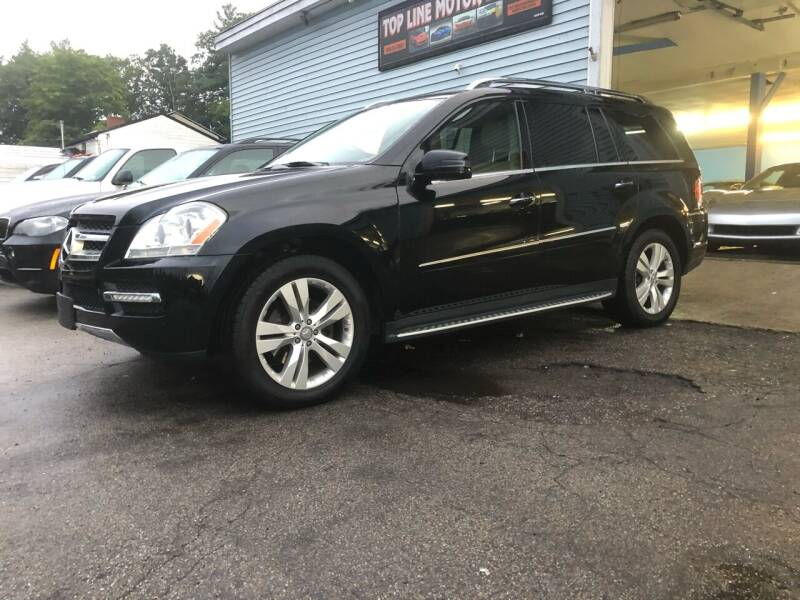 2012 Mercedes-Benz GL-Class for sale at Top Line Motorsports in Derry NH
