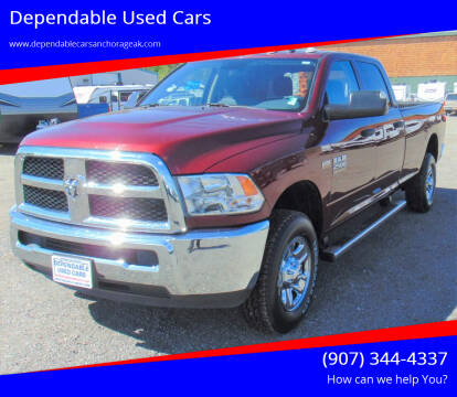 2018 RAM Ram Pickup 2500 for sale at Dependable Used Cars in Anchorage AK