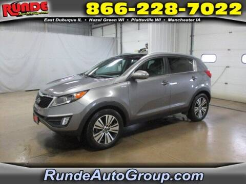 2015 Kia Sportage for sale at Runde Chevrolet in East Dubuque IL