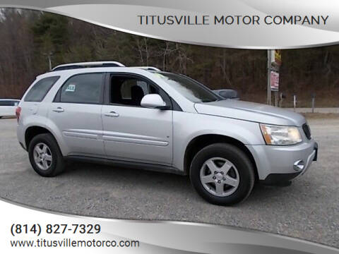 2009 Pontiac Torrent for sale at Titusville Motor Company in Titusville PA