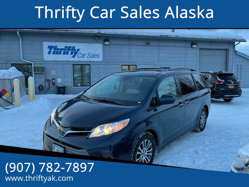 2018 Toyota Sienna for sale at Thrifty Car Sales Alaska in Anchorage AK
