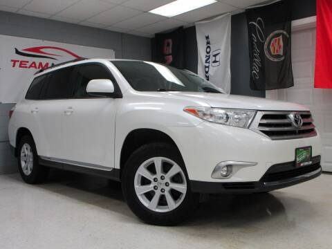 2012 Toyota Highlander for sale at TEAM MOTORS LLC in East Dundee IL