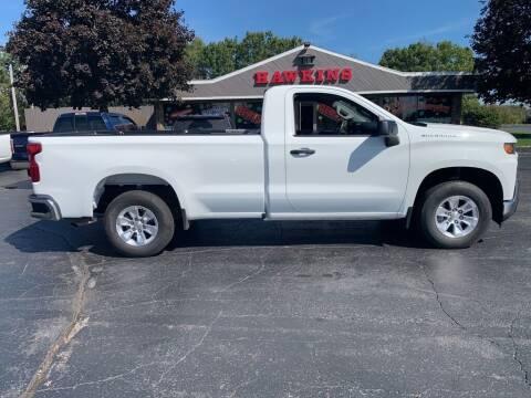 2020 Chevrolet Silverado 1500 for sale at Hawkins Motors Sales in Hillsdale MI