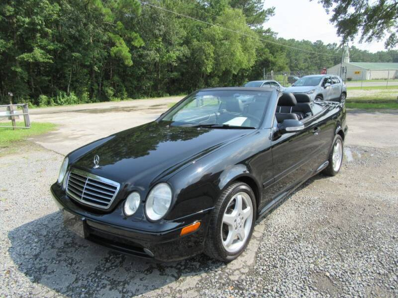2003 Mercedes-Benz CLK for sale at Bullet Motors Charleston Area in Summerville SC