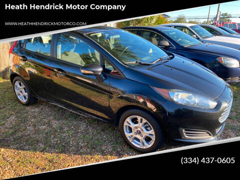 2015 Ford Fiesta for sale at Heath Hendrick Motor Company in Greenville AL