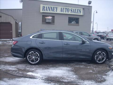 2020 Chevrolet Malibu for sale at Ranney's Auto Sales in Eau Claire WI