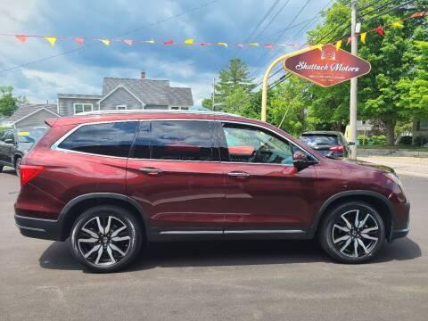 2019 Honda Pilot for sale at Shattuck Motors in Newport VT