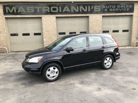 2010 Honda CR-V for sale at Mastroianni Auto Sales in Palmer MA