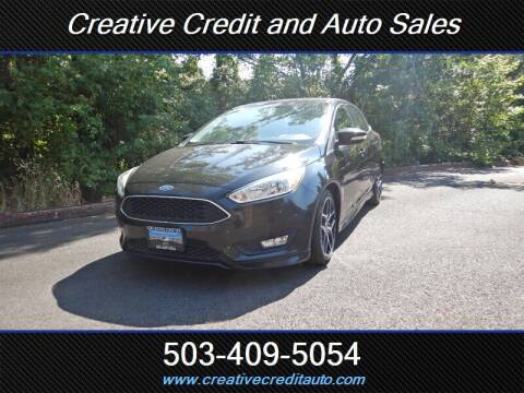2015 Ford Focus for sale at Creative Credit & Auto Sales in Salem OR