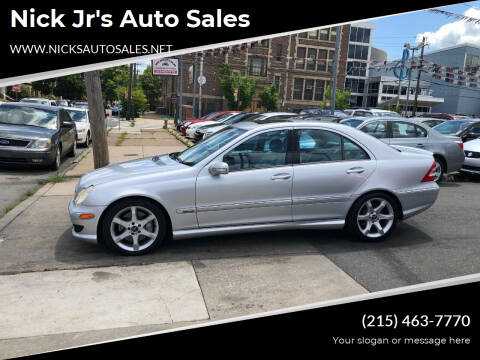 2007 Mercedes-Benz C-Class for sale at Nick Jr's Auto Sales in Philadelphia PA