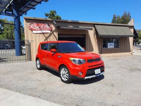 2017 Kia Soul for sale at Rent To Own Auto Showroom LLC - Finance Inventory in Modesto CA