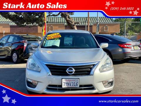 2014 Nissan Altima for sale at Stark Auto Sales in Modesto CA